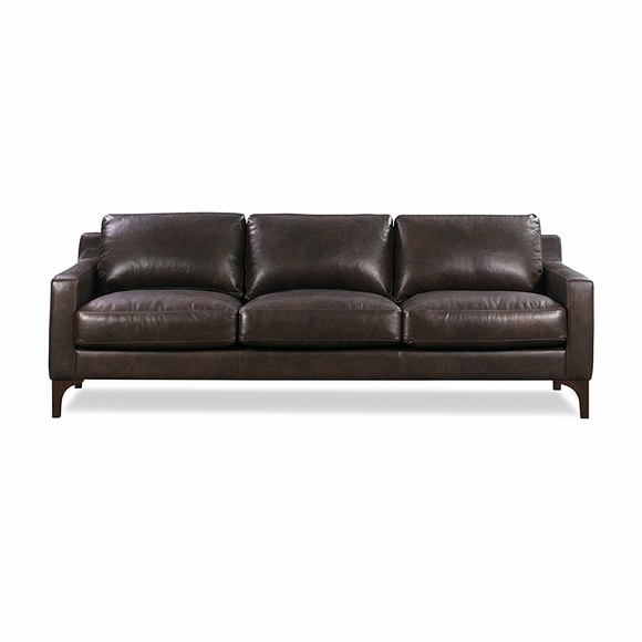 Sorrento Leather Sofa Modern In Designs