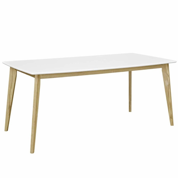 Stratum 71inch Dining Table in White