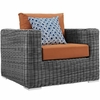 Summon 8 Piece Outdoor Patio Sunbrella Sectional Set
