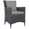 Summon Dining Outdoor Patio Sunbrella® Armchair