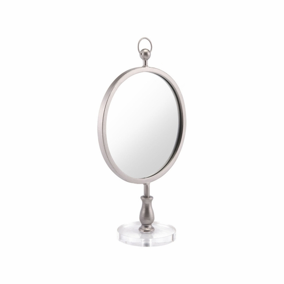 Table Mirror in Silver Mid-Za10819