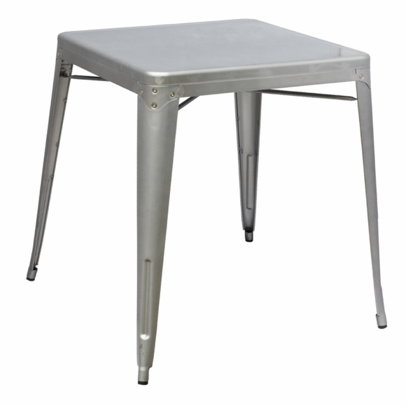Talix Dining Table in Silver