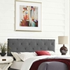 Terisa Queen Fabric Headboard