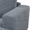 Tioga Right Sectional Sofa in Boulder Grey