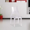Tolta Dining Side Chair in Clear