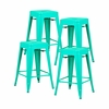 "Trattoria 24"" Counter Height Stool ( Set of 4)"