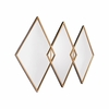 Tres Mirror in Gold