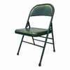 Turquoise Antique Folding Chair in Turquoise