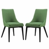 Viscount Dining Side Chair Fabric Set of 2