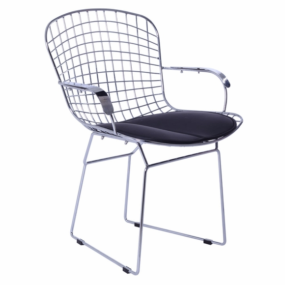 Wire Arm Chair