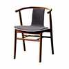 Wishflat Dining Side Chair in Walnut