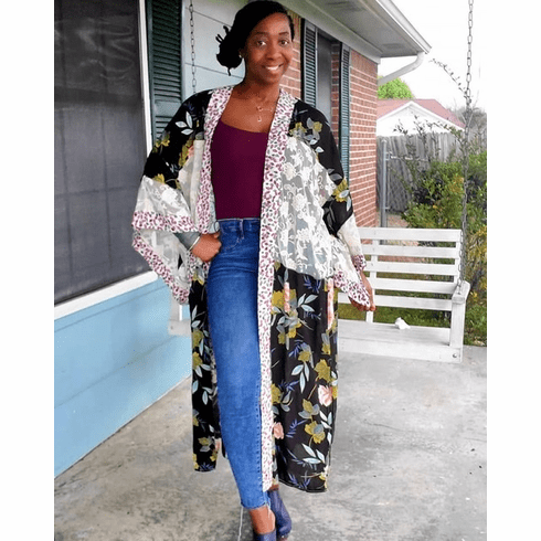 Floral & Lace Duster