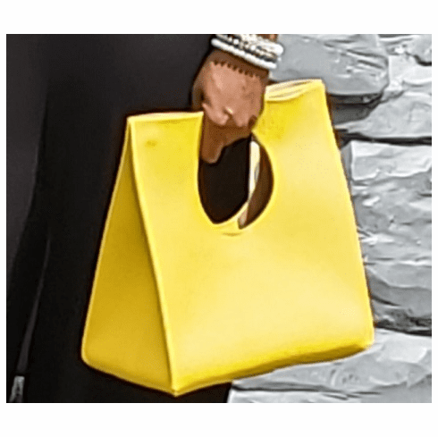 Lemon Clutch Tote