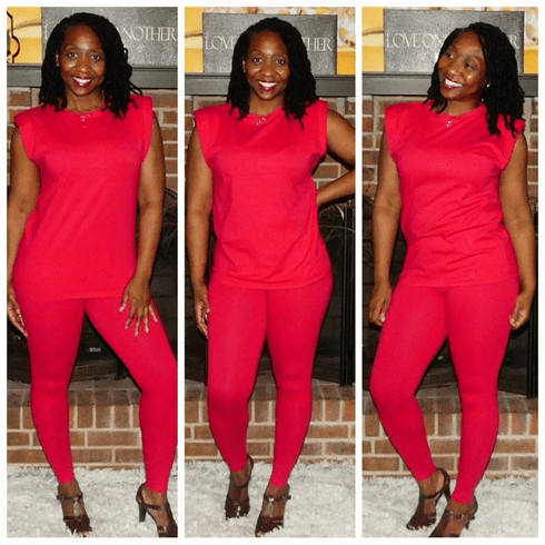 """Red """"80s Throwback"""" Set"""