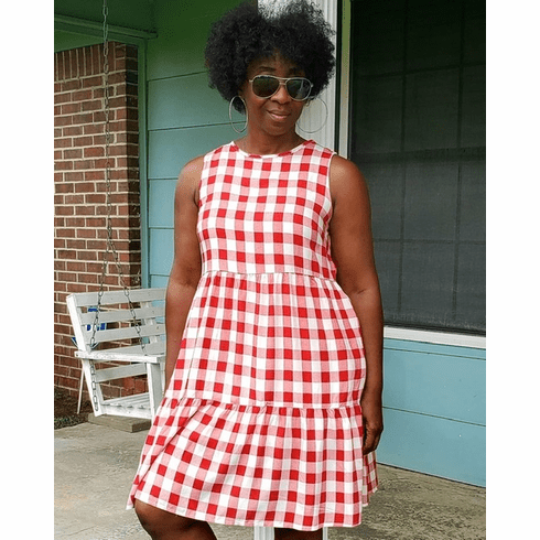 Red Gingham Mini