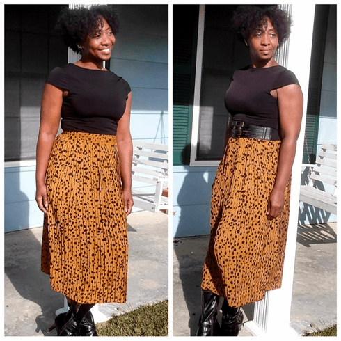 "The ""Chic & Pleat"" Midi Skirt"