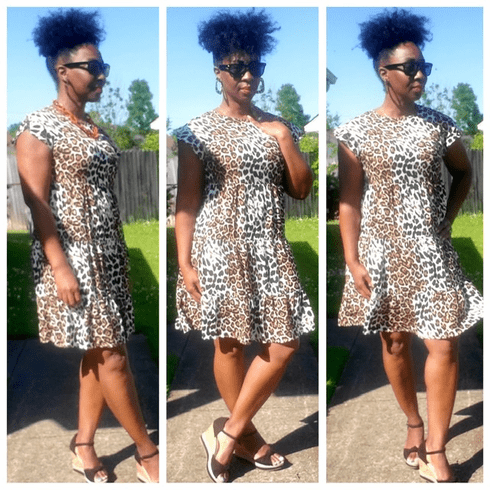 Tiered Leopard Mini