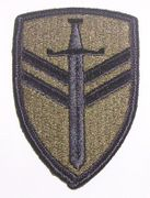 2nd Support Command Military Patch