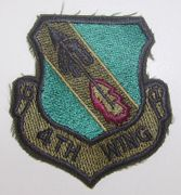 4th Wing Military Patch