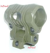 5 Position Tactical Flashlight Mount for 20MM Picatinny Rails in OD Green