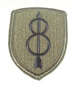 8th Infantry Division Military Patch