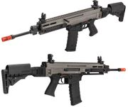 ASG CZ 805 BREN A1 Carbine Airsoft AEG Tactical Assault Rifle in Gray and Black Two Tone