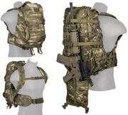 AT-FG Camo 600D Polyester Lancer Tactical EDC FAST MOLLE Pack Backpack CA-353F