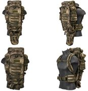 Lancer Tactical Escape and Evasion Survival Rifle Carry Pack Backpack in AT-FG Camo CA-356F