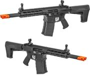 Classic Army DT-4 Double Barrel AR M4 Airsoft AEG Gun Rifle with M-LOK Rail System and Metal Receiver