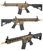 "Classic Army Ragnar Series ARS3 10"" M4 Airsoft Gun with MOSFET in Dark Bronze"