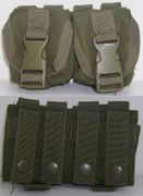 Condor Outdoor Tactical Gear Double Frag Grenade Pouch in OD MA14