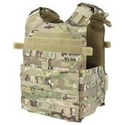 Condor Gunner Lightweight Plate Carrier MOLLE Tactical Vest in Crye MultiCam 201039-008