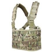 Condor Outdoor Tactical Gear OPS MOLLE Chest Rig Vest in Crye MultiCam MCR4-008