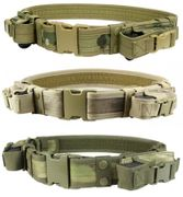 Condor Tactical Duty Belt with Two Pistol Mag Pouches