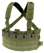 Condor Rapid Assault MOLLE Chest Rig Vest in OD Green MCR6