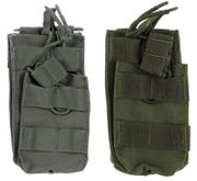 Condor Tactical Single Stacker M4 M16 AR15 Open Top Bungee Retention MOLLE Mag Pouch MA42