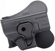 Cytac Push Button Retention Polymer Pistol Holster for Glock 42 with Paddle