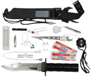 Survivalist Deluxe Adventurer Survival Knife Kit