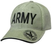 Deluxe United States Army Low Profile Baseball Hat Cap in OD