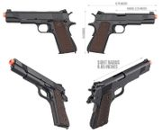Double Bell Metal WWII M1911A1 GBB Gas Blowback Airsoft Gun Training Pistol DB-783