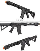 Double Bell M4 12 RIS Full Metal Airsoft Gun AEG with Adjustable Stock DB-076