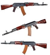 E&L Platinum Edition Russian MilSim AK-74N Airsoft Gun AEG with Real Wood Furniture EL-A102