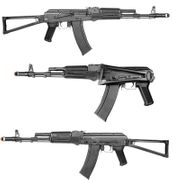 E&L Platinum Edition AKS74MN Airsoft Gun AEG with Stamped Steel Receiver and Triangle Folding Stock EL-A107