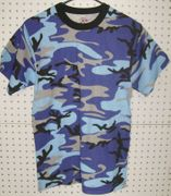 Rothco Chasing Blue Sky Camouflage T-Shirt 60173