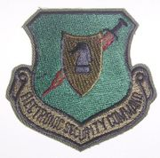 Electronic Security Command Military Patch