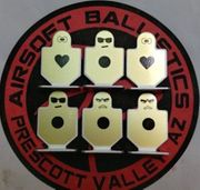 Element Brave Warrior Metal Aluminum Airsoft Gaming Target Six Pack