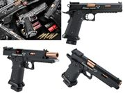EMG STI / TTI Licensed JW3 John Wick 3 2011 Combat Master CO2 Blowback Airsoft Tactical Training Pistol