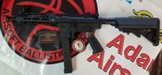 Limited Edition G&G PCC 9 Tactical ARP 3 Round Burst Programmable ETU Airsoft AEG with M-LOK Rail System and Crane Stock