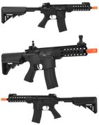 "JG Golden Eagle CQB M4 Airsoft Gun with 14"" TR Vented Free Float MOE Handguard GE-6633"
