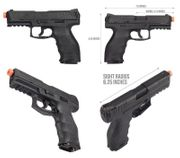Heckler and Koch VP9 CO2 Blowback Airsoft Training Pistol HK-2275046